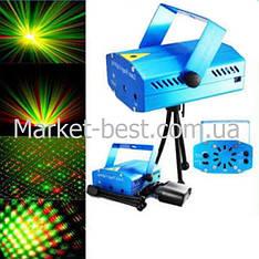 Лазерный мини-проектор для праздников Laser Lighting XX-027