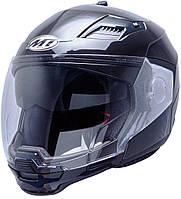 "Шлем MT CONVERT metall black ""L"", арт. 10160002"
