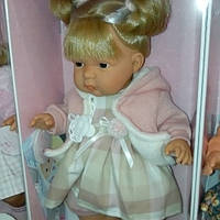 Детская кукла Лоренс с хвостиками(Италия)