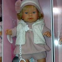 Детская кукла Лоренс(Италия) в шапочке