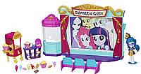 Игровой набор мини-кукол Hasbro My Little Pony Equestria Girls Кинотеатр (C0409)