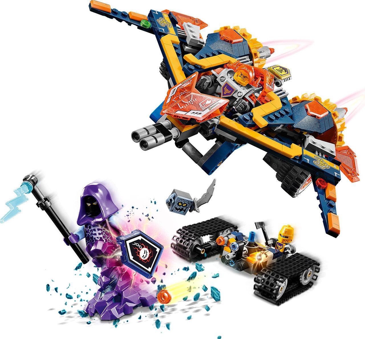 Конструктор лего нексо Bela Nexo Knights 10703 «Бур-машина Акселя», 405 деталей