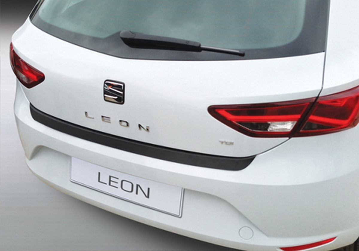 rbp591 Seat Leon III 3/5 door 2012> rear bumper protector