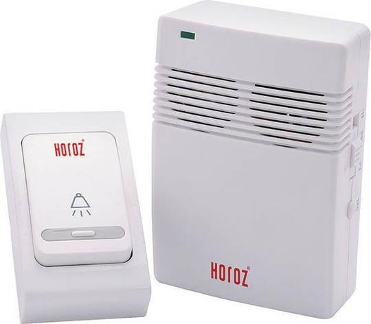 Звонок беспроводной SOLID Horoz Electric на 38 мелодий HL 453, фото 2