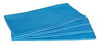 Циновка текстиль 30*45см голубая, упаковка 4штуки