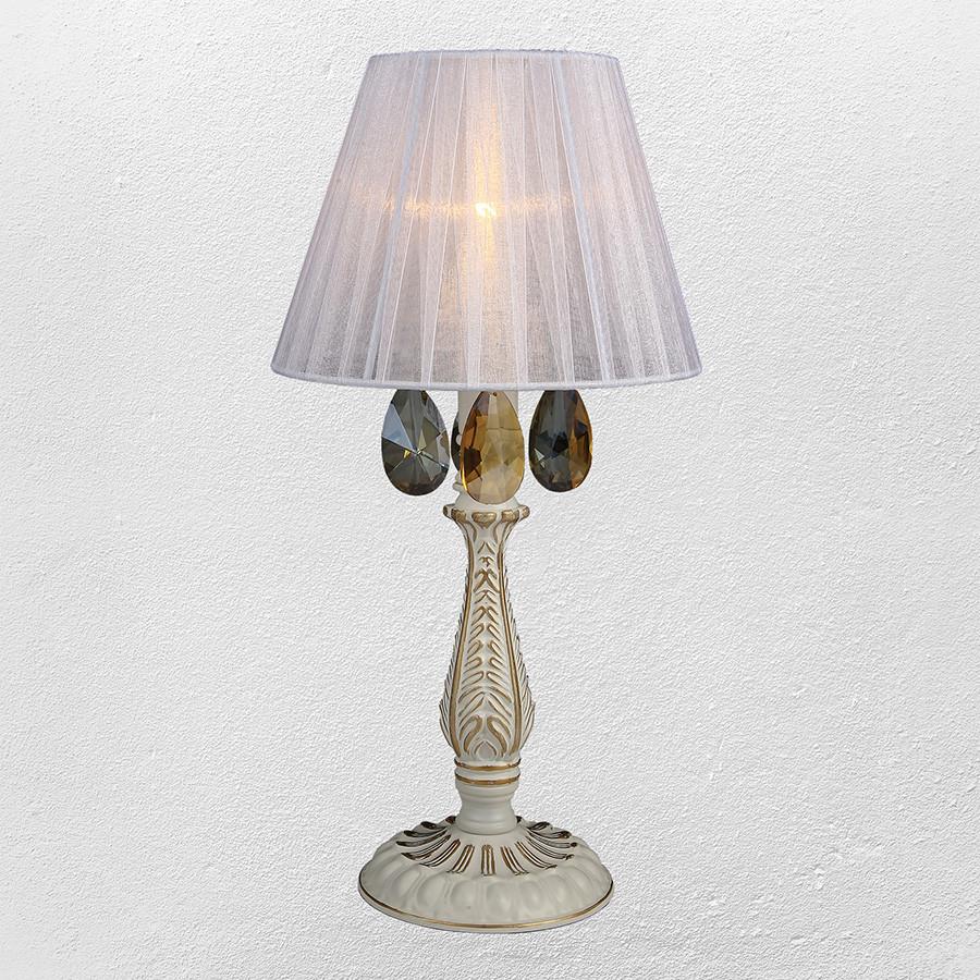 Настольная лампа в классическом стиле (модель 55-MK30027T-1 WT+FGD)