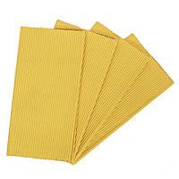 Циновка текстиль 30*45см желтая, упаковка 4штуки