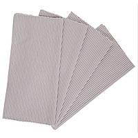 Циновка текстиль 30*45см серая, упаковка 4штуки