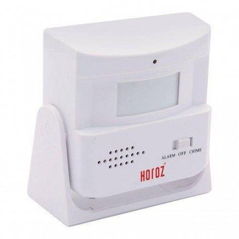 Звонок беспроводной с датчиком движения HELIX Horoz Electric HL 454, фото 2