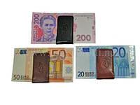 Зажим   для денег (Tony Perotti) 1201Double черный/miele