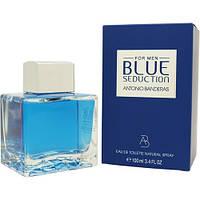 Мужская туалетная вода Antonio Banderas Blue Seduction 100 мл ОРИГИНАЛ (Антонио Бандерас Блу Седакшн)