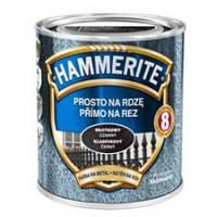 """Краска """"Hammerite"""" молотковая черная 0,75л"""