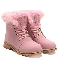 Стильные зимние ботинки, очень удобные и тёплые размеры 41(26см)