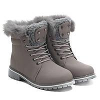Стильные зимние ботинки, очень удобные и тёплые
