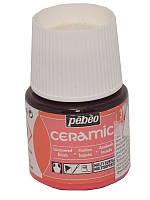 Краска для стекла и керамики Pebeo Ceramic 45мл №031 Цикламен
