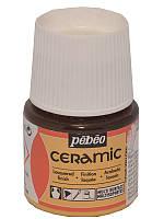 Краска для стекла и керамики Pebeo Ceramic 45мл №033 Желтая светлая