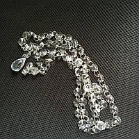 Акриловые кристаллы на кольцах (капля)