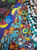 Ткань  Рип-стоп сумочная оксфорд с рисунком (Дизайн)