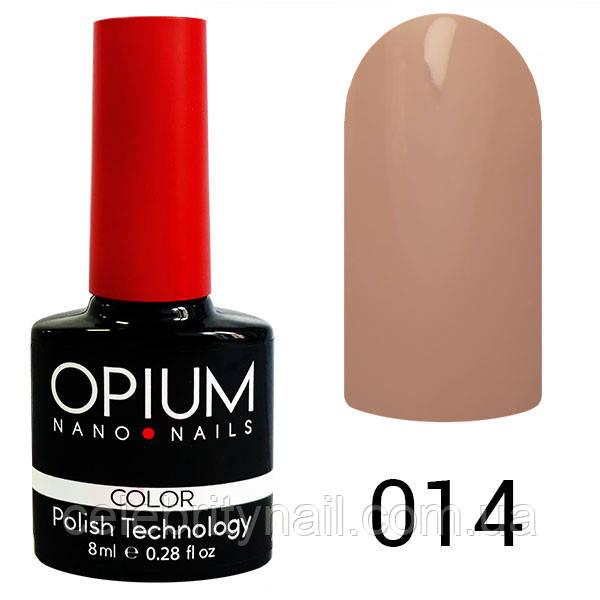 Гель-лак Opium № 014, 8 мл