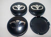 Колпачки в диски Daewoo 55-59 мм черные