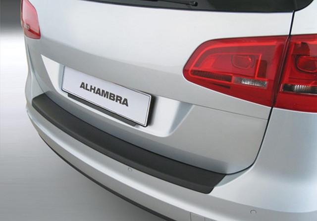 RBP487 Rear bumper protector Seat Alhambra II 2010>