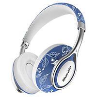 Беспроводные Bluetooth наушники Bluedio A2 со складным корпусом (Голубой)