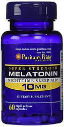 Puritan's Pride Melatonin 10mg 60 tabs
