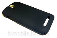 Чехол пластиковый бампер для HTC Desire SV T326e черный (матовый)