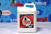 Средство для мытья посуды  Fairy Клубника 5 литров Р