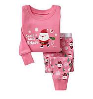 Пижама детская штаны и кофточка для девочки
