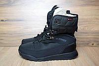 Зимние женские сапоги-дутики Adidas Terrex 2 черные 3114
