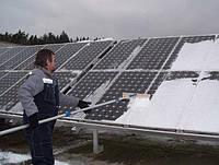 Які нюанси роботи сонячної електростанції в зимовий період