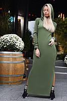 Трикотажное платье на меху 9118.3 ВМ