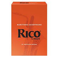 Трости для баритон саксофона RICO Baritone Sax #2.5 - 10 Box