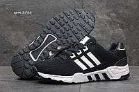 Кроссовки мужские Adidas Equipment Весна Осень. Замша 100% Темно синие с белым