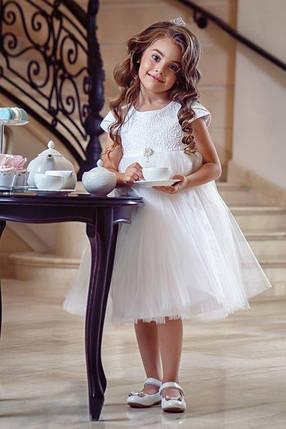 Нарядное детское платье Нежность, фото 2