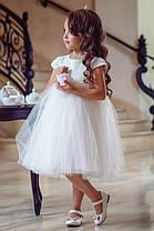 Нарядное детское платье Нежность, фото 3