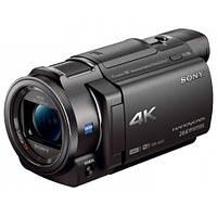 Цифровая Видеокамера 4K Flash Sony Handycam FDR-AX33 Black
