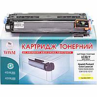 Картридж тонерний Wwm для HP Color LaserJet 1600/2600/2605 аналог Q6002A Yellow LC32Y Rem