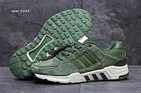 Кроссовки мужские Adidas Equipment Весна Осень. Замша 100% Зеленые