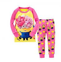Пижама детская с Миньоном для девочки