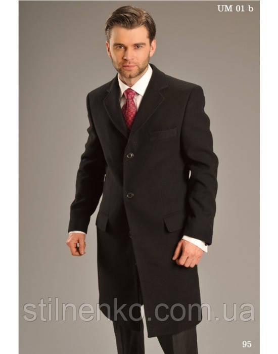 """Мужское удлиненное пальто """"West-Fashion"""",кашемир"""