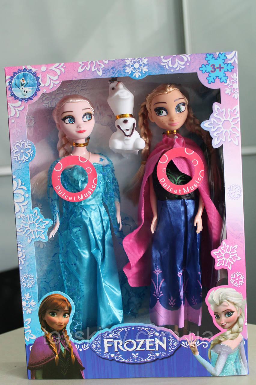 Кукла Frozen Анна и Эльза музыкальные XF816