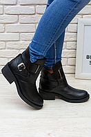 Ботинки низкий каблук. Кожаные ботинки. Модные ботинки. Женские ботинки. Женская обувь.