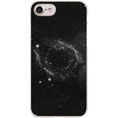 Чехол накладка на iPhone 4/4s пластик, космос, черный