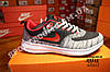 Кроссовки Nike Zoom Gray Серые мужские реплика, фото 2