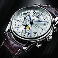Наручные часы Longines Master Collection Moon мужские механические копия