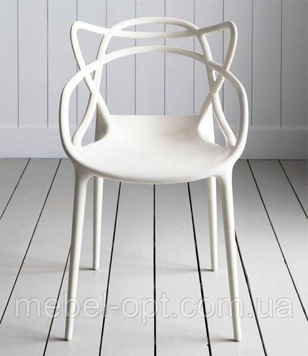 Кресло Masters Chair АС-006 белый пластик, дизайнPhilippe Starck