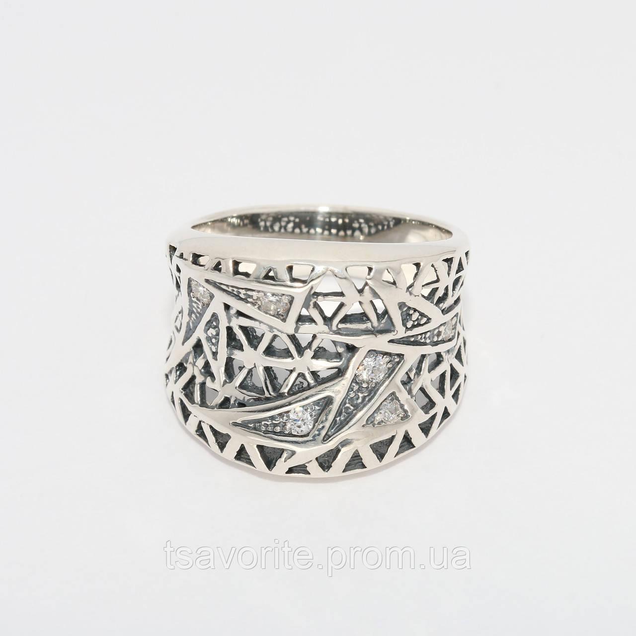 Серебряное кольцо 149КЮ