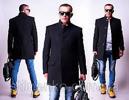 """Мужское полупальто """"West-Fashion"""",кашемир"""